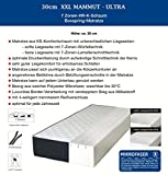 30cm XXL MAMMUT ULTRA BoxSpring 7-Zonen Kaltschaum Matratze