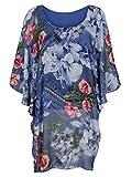 Alba Moda Damen Tunika Multicolor