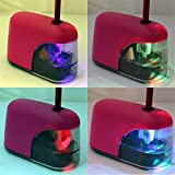 #8: Eagle Automatic Pencil Sharpener With LED Light (4 AA Battery Operated)