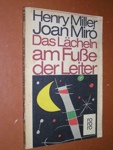 Das Lächeln am Fusse der Leiter. = The smile at the foot of the ladder , Rororo 4163 ; 3499141639