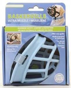 Baskerville Muselière pour Chien Ultra Bleu Taille 3