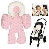 Atmungsaktive Universal Sommer-Sitzeinlage / Sitzauflage für Auto-Kindersitze und Babyschalen  ...