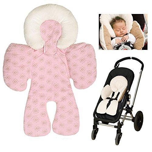 Atmungsaktive Universal Sommer-Sitzeinlage / Sitzauflage für Auto-Kindersitze und Babyschalen   verringert Schwitzen Ihres Kindes - kühlt durch Luftzirkulation   ideale Alternative zum Sommerbezug