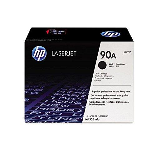 Original HP CE390A / 90A, Premium Drucker-Kartusche, Schwarz, 10000 Seiten