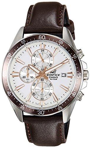 Casio Edifice Chronograph White Dial Men's Watch - EFR-546L-7AVUDF(EX235)