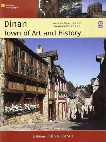 Dinan, Ville d'Art & d'Histoire (Panoramique) (Angl) par Marcel-Rouault Claud