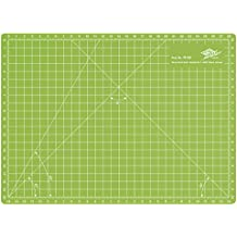 Wedo 79230 Schneidematte Comfortline A4, CM 30, beidseitig bedruckt, selbstschließende Oberfläche, 30 x 22 x 0,3 cm, apfelgrün