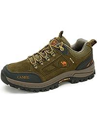 Botas de Montaña Unisex: Zapatillas de Alta Tracción para Caminar. Zapatillas Respirables Ocasionales Zapatillas de Montaña para Gimnasio, Senderismo, Escalada, Viaje, Diario