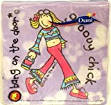 Groovy Chick Bang on the Door Party Napkins (20)