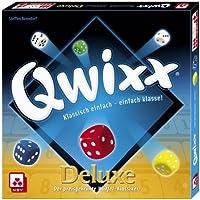 NSV-4024-QWIXX-DELUXE-Wrfelspiel Nürnberger Spielkarten NSV – 4024 – QWIXX Deluxe – Würfelspiel -