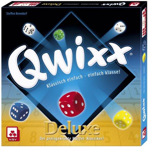 Preisvergleich Produktbild NSV - 4024 - QWIXX DELUXE - Würfelspiel