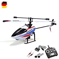 Single Rotor RC 4.5 Channel RC Helicopter with 2.4 Ghz Technology and Gyro Ready To Fly Speaker System with Rechargeable Battery and Remote Control from HSP Himoto