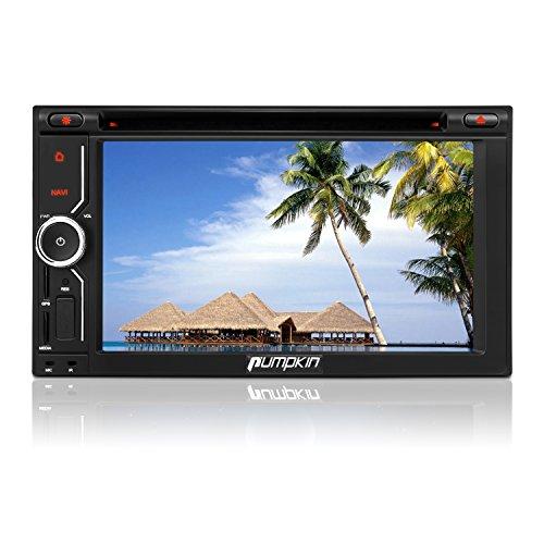 Zucca 6.2inch Android 4.4Quad Core autoradio doppio DIN in Dash stereo Supporto GPS di navigazione DVD lettore CD Controllo del volante WiFi 3G cam-in Subwoofer PIP modalità video audio DSP effetto con 2GB di RAM