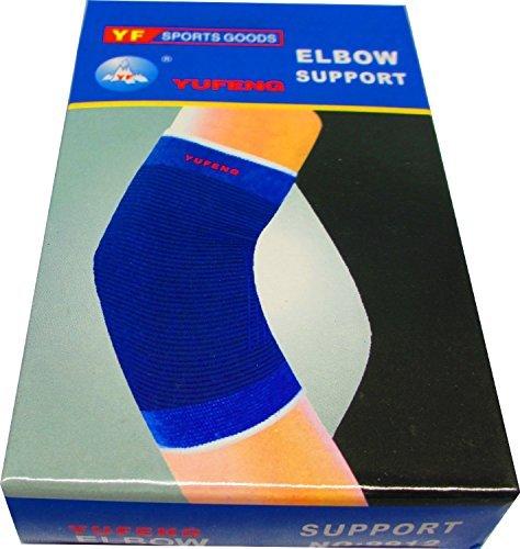 2 Ellenbogen Bandagen (gut zur Tennisarm-Entlastung)
