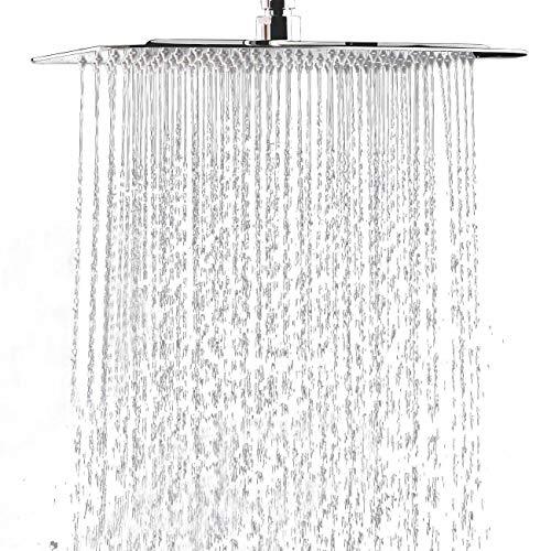 Hiendure® 40cm Rostfreier Stahl Platz Ultra dünn