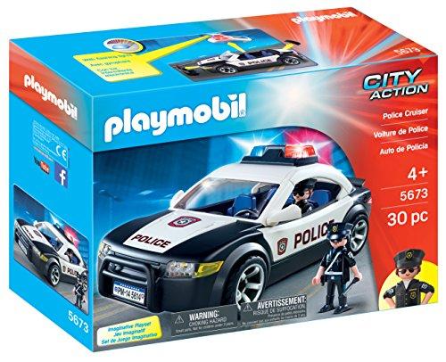 PLAYMOBIL 5673 voiture de police us