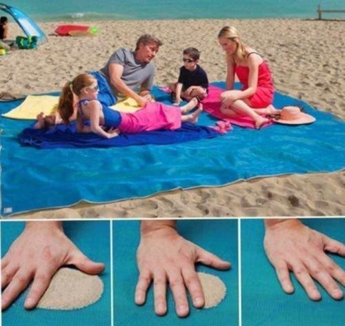 Telo mare anti-sabbia per la tua estate senza stress e senza sabbia per chi ama stare sempre puliti 200x 150cm