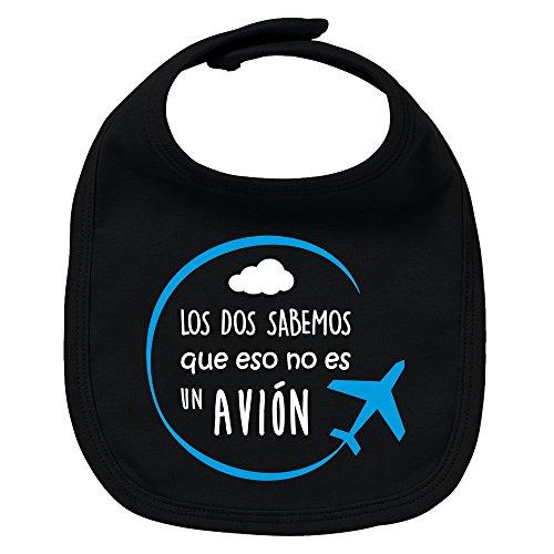 ClickInk Babero bebé niño niña Avión. Regalo original
