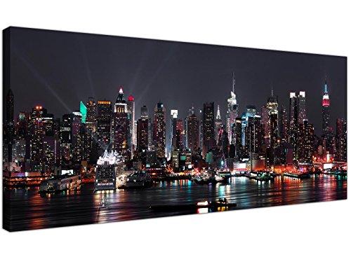 Eine große Black & White bis zu der Minute Panoramadruck.- Direct To You von wallfillers®, der größten britischen Anbieter Leinwand Kunstgalerie.- Unsere Wand Kunst ist von höchster Qualität mit einem lang anhaltenden Farben hergestellt.- Hergest...
