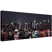 Lienzos baratos de la ciudad de Nueva York para tu oficina–arte mural de la ciudad–1187–Wallfillers®