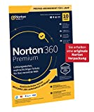Norton 360 Premium 2020, 10-Geräte, 1-Jahres-Abonnement mit Automatischer Verlängerung, Secure VPN und Passwort-Manager, PC/Mac/Android/iOS, FFP, Download