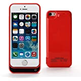 SKS Distribution® 4200mAh Portable External Power Pack Battery Charger Charging Case iPhone5/5S/5C - Red