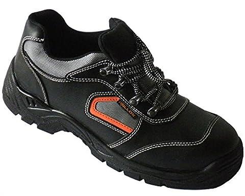 Arbeitsschuhe Sicherheitsschuhe Schuhe schwarz echt Leder LC052 S3 NEU (38 39 40 41 42 43 44 45 46 47) Gr.