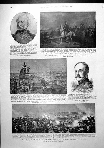 Vicomte Gough Nicholas Zar-Russland-Zusammenfassung Nach Sobraon 1901