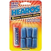 Hearos Xtrem Protection super Starke Dämmung Ohrstöpsel ideal gegen Schnarchen zum Reisen auf Events.