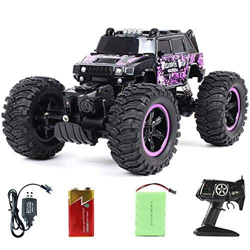 to rosa 360 ° Stunt Tumbling wasserdicht Monster Truck, Jungen und Mädchen Erwachsene können Spielzeug steuern ()