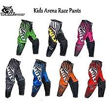 WULFSPORT NEW 2016 KIDS ARENA PANT Motocross Quad MX Pit Sport Junior Trouser Pant