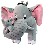Ella The Cute Elephant With Her Babies -...