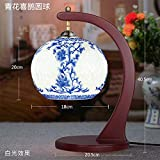 Lampada da tavolo con vaso vuoto Lampada da tavolo in ceramica camera da letto comodino studio soggiorno decorazione led Lampada da tavolo cinese