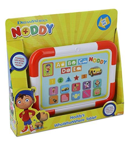 KD Toys Noddy S16160 Kinder-TabletWho What Where, in englischer Sprache