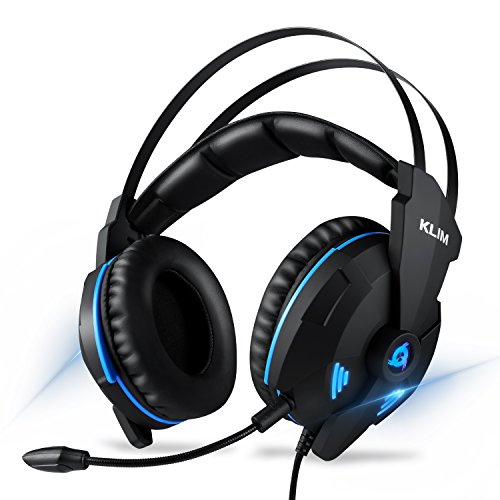 KLIM IMPACT V2 Cuffie Gaming USB - Gamer Headset - Suono Surround 7.1 +  Isolamento del eb94e61db5fc