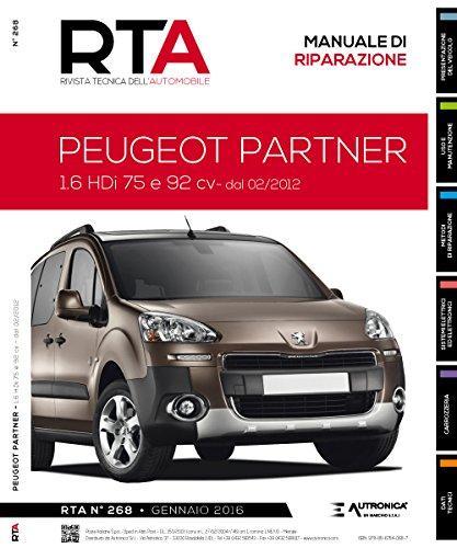 Peugeot partner. 1.6 HDI 75 e 92 CV dal 02/2012 - Amazon Libri