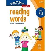 ACTIVIDADES EN INGLÉS (3-4 AÑOS): Aprendo En Casa Inglés. Leer Palabras. 3 - 4 Años: 2