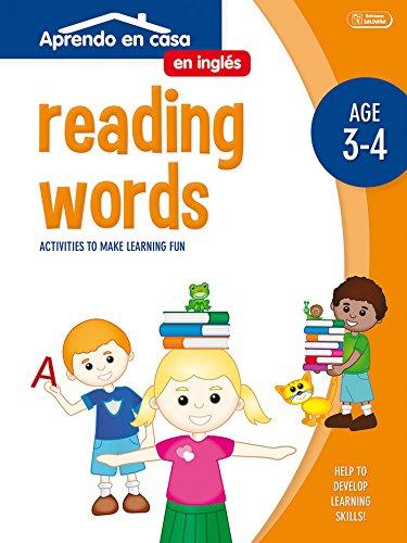 ACTIVIDADES EN INGLÉS (3-4 AÑOS): Aprendo En Casa Inglés. Leer Palabras. 3 - 4 Años: 2 por PATIMPATAM