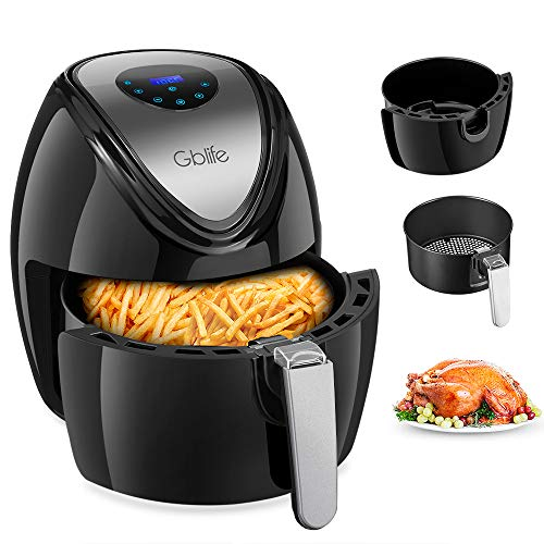 Heißluftfritteuse Friteuse Digital Intelligent 1500W Air Fryer
