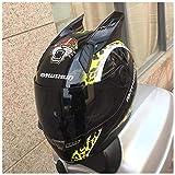 ZHUZHU Sonnenschutz Wildfire Stunt Elektrischer Helm Weibliche Auto Persönlichkeit Land Rosa Helm Cross Helm Motorrad Helm Männlich (Color : B, Größe : L)