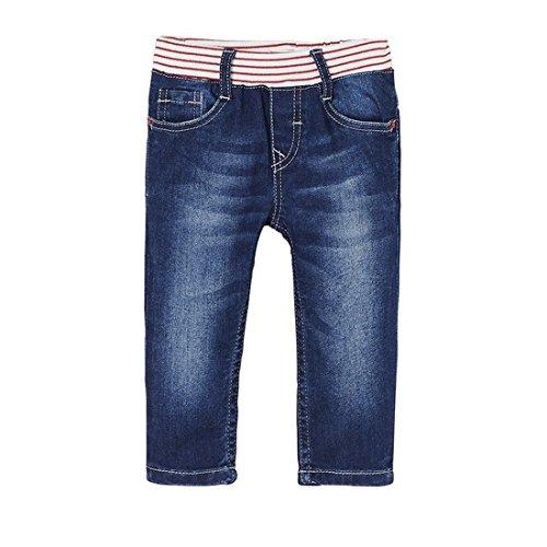 Levi's Kids Baby-Mädchen Jeans NL22514, Blau (Denim 46), 86 (Herstellergröße: 24M)