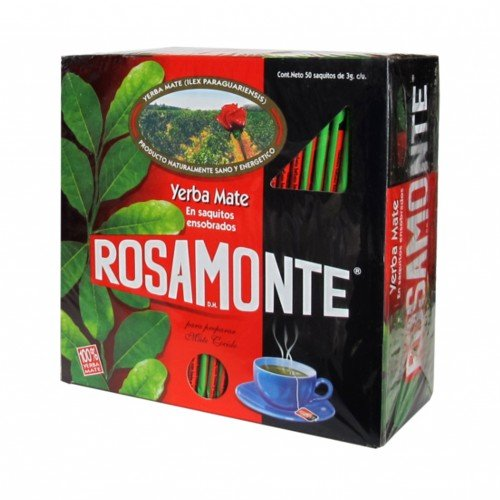 Yerba Mate Rosamonte Te Borse x 50