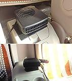 Finlon 12V Car Portable Ceramic Heating Cooling Heater Fan Defroster Demister
