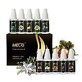 IMECIG® Liquido Sigaretta Elettronica Multipack di Sapore Frutto per Sigaretta Elettronica Shisha