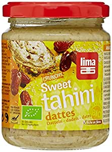 Lima Crunchy Sweet Tahini aux Dattes Bio 250 g