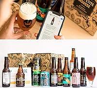 - L'assurance de faire plaisir à un amateur de bière IPA - Une belle sélection de 11 bières dont la moyenne dépasse les 80/100 sur le site de notation de bières Ratebeer - 1 verre de dégustation inclus, et un guide de biérologie (avec une version int...