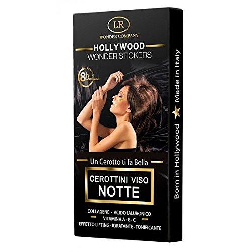 Hollywood Wonder Stickers, cerottini viso notte contorno occhi, labbra e fronte (30 pz) - LR Wonder Company