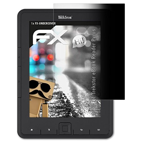 atFolix Blickschutzfilter für Trekstor eBook Reader Pyrus Blickschutzfolie - FX-Undercover 4-Wege Sichtschutz Displayschutzfolie