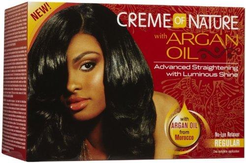 Creme of Nature Glättungscreme mit Arganöl (normales Haar)