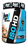 ISO HD, 100% Protein Isolate Hydrolysat, Erdnussbutter Candy Bar - BPI Sport